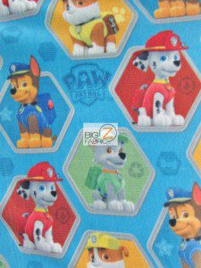 Nickelodeon Paw Patrol Fleece Fabric