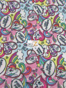 My Little Pony By Springs Creative Fleece Fabric