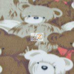 Bear Anti-pill Fleece Fabric Pack