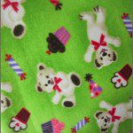 Bear Anti-pill Fleece Fabric Party