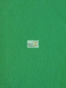 Solid Fleece Fabric Kelly Green