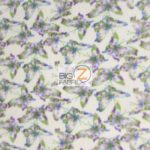 Butterfly Anti-pill Fleece Fabric Paradise