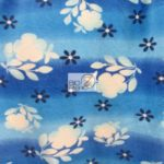 Hawaiian Flower Anti-pill Fleece Fabric Oasis