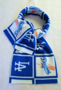 MLB Dodgers Fleece Scarf
