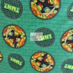 TMNT Badge Toss Anti-pill Fleece Fabric