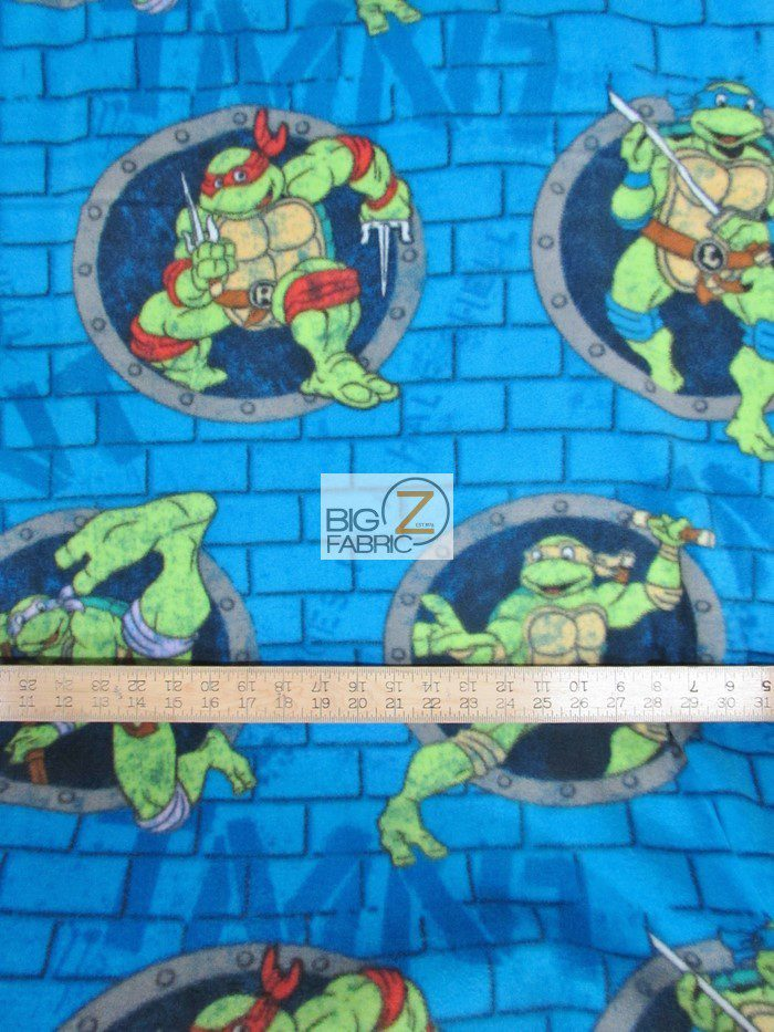 Tmnt Anti Pill Fleece Fabric Anti Pill Fleece Fabric