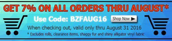 August Big Z Fabric Fleece Discount