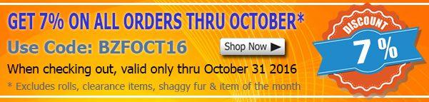 October 2016 Anti-pill Fleece Fabric Discount