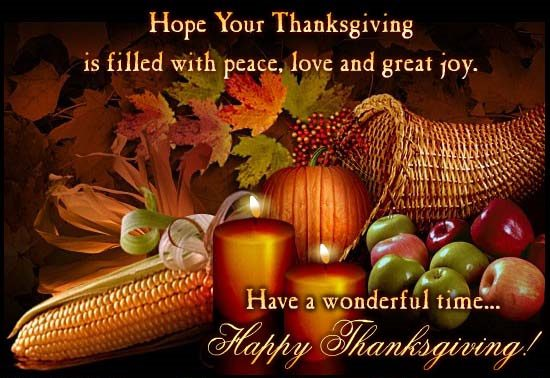 Happy Thanksgiving 2016 From Big Z Fabric