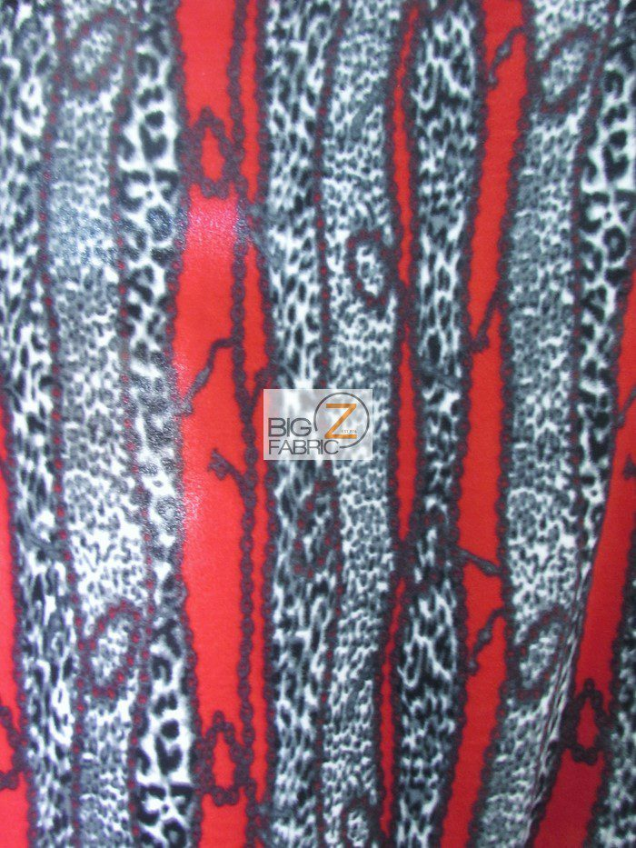 Abstract Anti-pill Fleece Fabric
