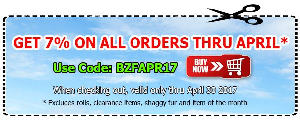 Big Z Fabric April Anti-pill Fleece Coupon