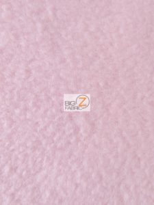 Solid Anti-pill Fleece Fabric Light Pink