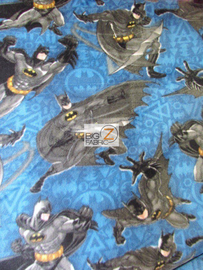 Justice League Batman Anti-pill Fleece Fabric