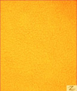 Solid Anti-pill Fleece Fabric Golden Yellow
