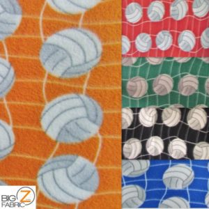 Volleyball Anti-pill Fleece Fabric