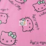 Hello Kitty Anti-pill Fleece Fabric Love