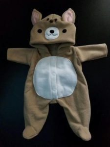 Fleece Halloween Baby Costume