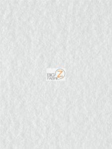 Solid Anti-pill Fleece Fabric White