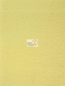 Solid Anti-pill Fleece Fabric Sunrise Yellow