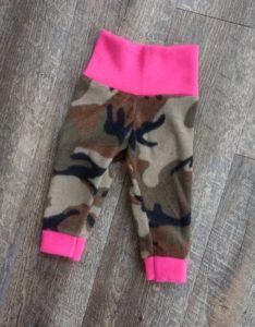 Kids Camo Fleece Pants