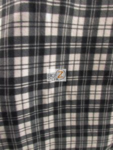Scott Checkered Color #6 Anti-pill Fleece Fabric
