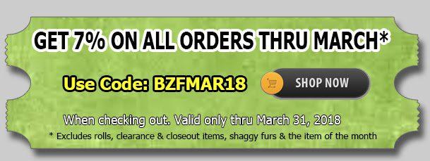 Big Z Fabric March Madness Fleece Sale!!!
