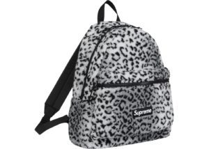 Supreme Leopard Fleece Backpack