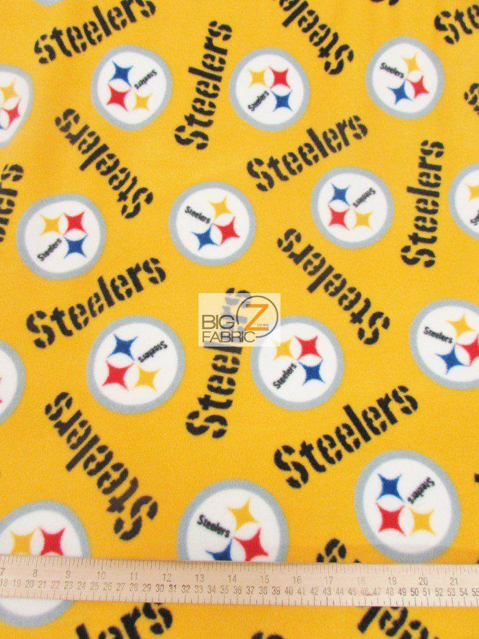 Steelers Fleece Fabric