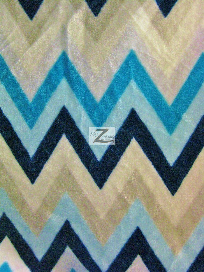 chevron micro fleece