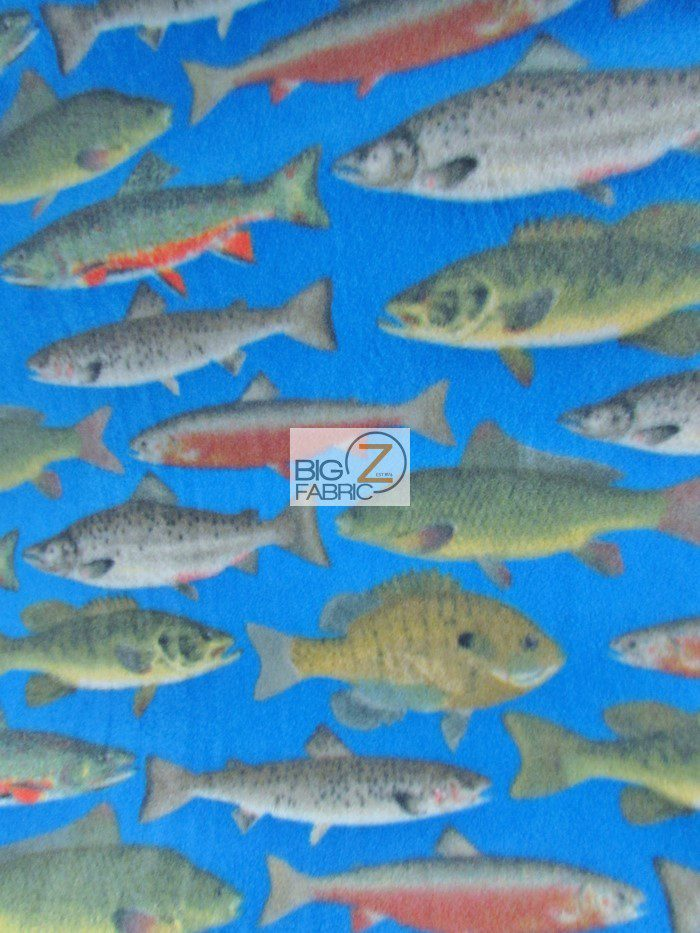fish in the sea fleece